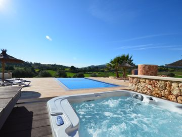 Finca al turó quiet Spa heated priv. Pool Panoramic Wifi Wireless Fireplace
