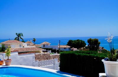 Photo for Great Offers now ! Stunning sea open views, priv pool, Free Wi Fi- 3bed-1level !