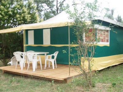 Photo for Camping Le Grand Cerf **** - 3 Room Canvas Bungalow 5 People