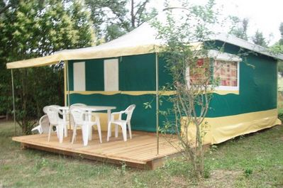 Camping Le Grand Cerf 3 Room Canvas Bungalow 5