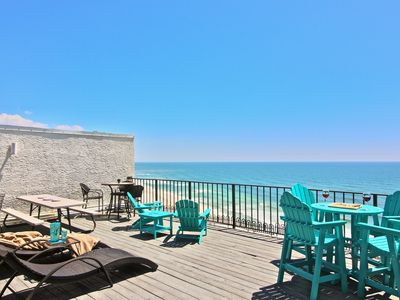 Photo for Penthouse T3, 600 sq. ft. Rooftop  Deck! beach chairs plus 2 rental chairs incl.