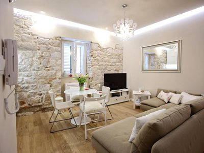 Photo for Luxury 2 Bedroom Apartment in UNESCO-listed Diocletian's Palace