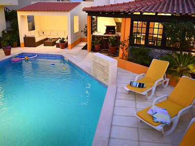 Photo for Casa Grande - Luxury villa with private pool, hot tub, pool table, ping pong