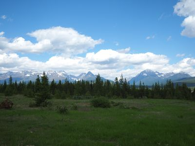Photo for Breathtaking view of Glacier National Park from your Window