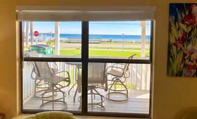 Photo for April 22-May 4 OPEN!Pet Friendly Direct Beach View! BOOK NOW!  View VRBO 1441872