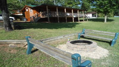 Photo for Canoe, boat slip/rentals, fire pit. Just steps to the dock! 18 miles to Boone