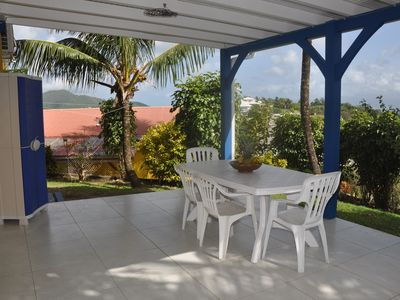 Photo for Apartment for 4, 1 bedroom closed, quiet, tropical greenery and pleasant views