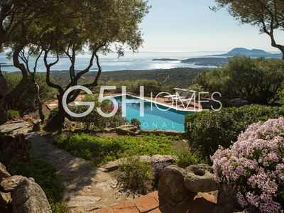 Photo for Sardinia Costa Smeralda, detached villa, large private pool