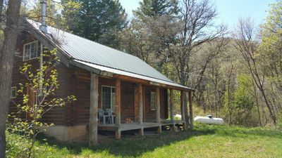 Photo for Secluded Log Cabin  Sleeps up to 8