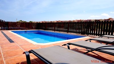 Photo for Villa Carita Frontline detached villa with private pool on Mar Menor