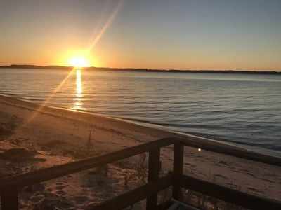Photo for Beautiful Lake House With 100' Private Beach on East Bay ~Includes Paddle Boards