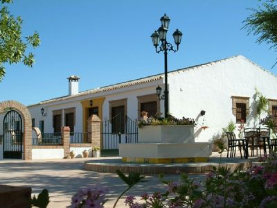 Photo for Rustic house with swimming pool, beautifully situated in Priego de Còrdoba