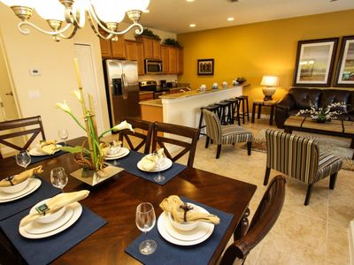 Photo for Disney On Budget - Paradise Palms Resort - Amazing Spacious 4 Beds 3 Baths Townhome - 4 Miles To Disney