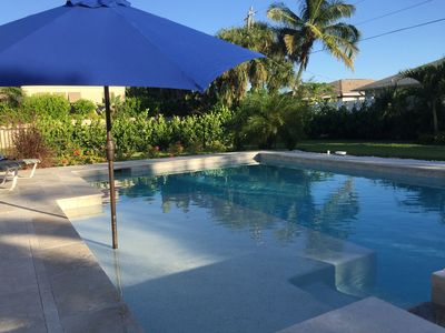 Photo for Summer and fall weeks available now! Walk or bike to beach, or enjoy the pool!