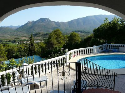 Photo for Superb Villa with Stunning Mountain and Valley Views