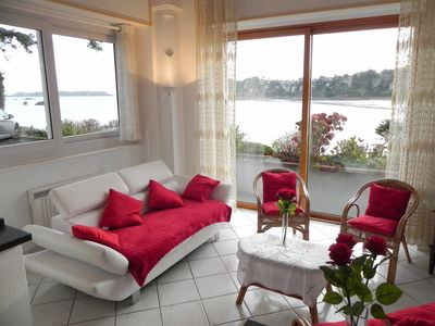 Photo for ** Superb sea view ** in apartment tt comfort 4 p, direct access to beach, park, wifi
