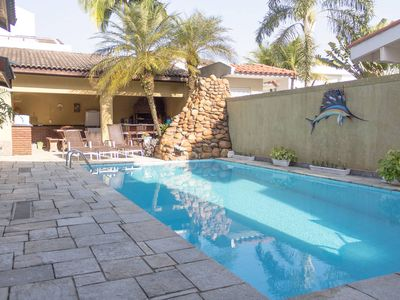 Photo for Excellent house with pool Guaruja Garden Acapulco best beach IN CONDOMINIUM