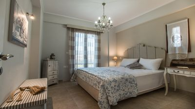 Photo for One-Bedroom Apt with Side Sea View, Ground Floor - Gratsias Luxury Apartments