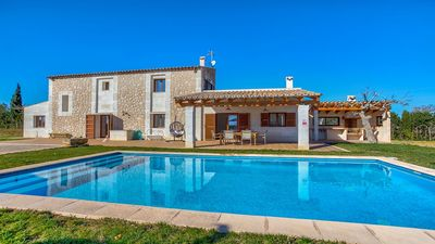 Photo for Finca Ses Pedreres - A Stunning Villa with Private Pool and Breathtaking Views to Alcudia Bay and the Tramuntana Mountains ! - Free WiFi