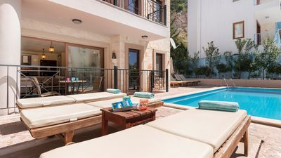 Poolside location means convenience and relaxation