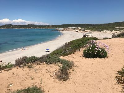 Photo for Sardinia Two-room apartment 2/5 pax + pet, large terrace with sea view near the beach
