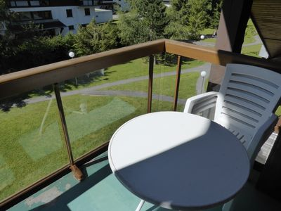 Breathe the fresh mountain air on your mountain view balcony!
