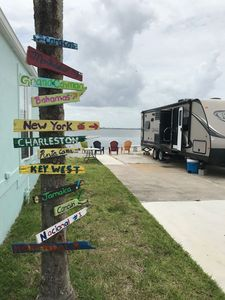 Photo for For RV -  Water Front.Empty LOT