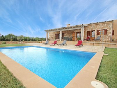 Photo for Finca Can Roca - Rural - AirConditioner - WiFi - Cottage for 6 people in Felanitx
