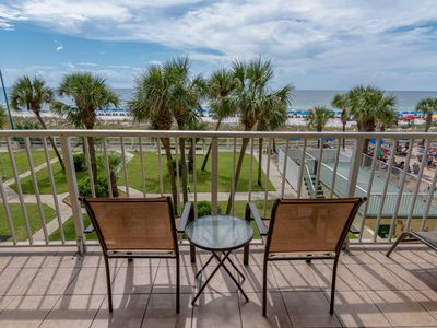 Photo for Enjoy the Ocean breeze and view from the 3rd floor balcony