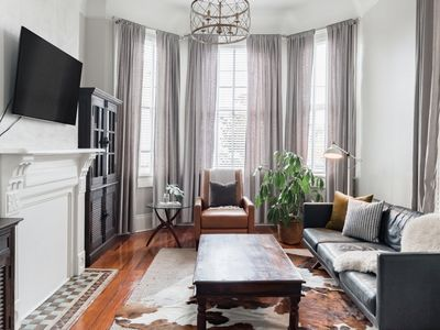 Photo for Revitalized Historical Townhouse with Backyard Porch
