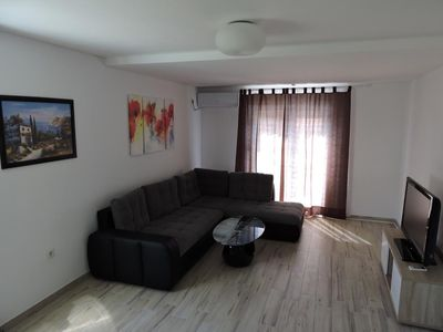 Photo for Two bedroom apartment with balcony and sea view Trogir