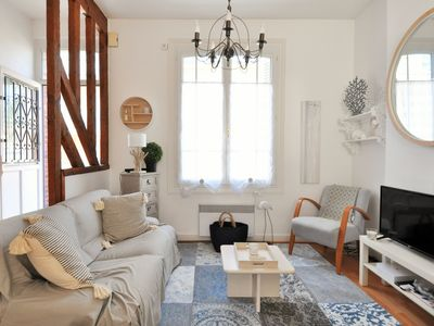 Photo for Charming house with small courtyards / center of Trouville / 3 bedrooms / 80m²