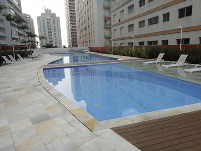 Photo for New - complete leisure - partial view - Asturias beach - TERRACE WITH BARBECUE