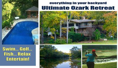 Photo for Riverfront, Golf Course Retreat With Pool!
