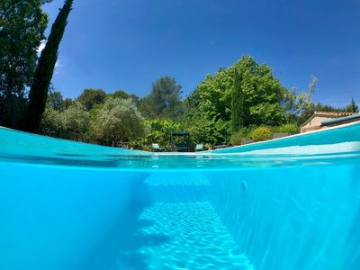 Photo for Beautiful House, Calm and Tranquility, with swimming pool. Close to Aix en Provence ...