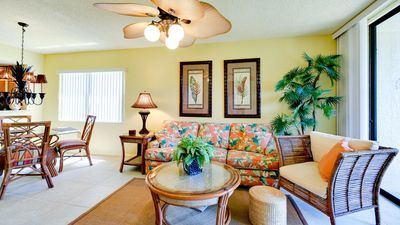 Professionally designed tropical ground floor condo on 2 small lakes
