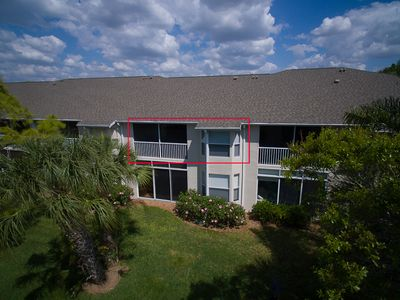 Photo for Beautiful Stoneybrook Golf Course Condo! Veranda Greens - Overlooks 16th green
