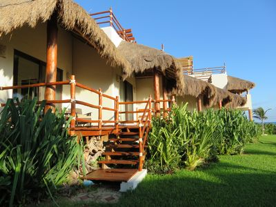 Photo for ISLA MUJERES MAYAKAAN HOUSES, FANTASTIC BEACH VIEW w/ROOFTOP