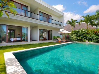 Photo for WOW! 7 BR Fantastic Rice Fields View Villa in Canggu close to the beach #FK