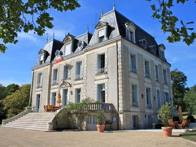 Photo for Luxurious Chateau with Private Pool, Tennis and Par 3 Golf