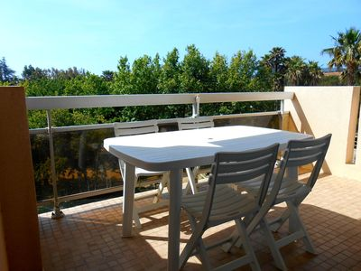 Photo for studio 4 people center lavandou 400m from the beach