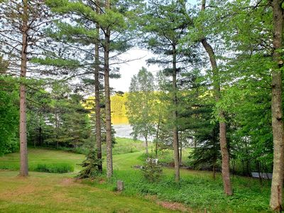 Gorgeous 11 Crow Wing; with undeveloped lots on each side=no neighbors in sight!