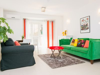 Photo for One bedroom apartment on the ground floor with an out door patio, perfect for 2