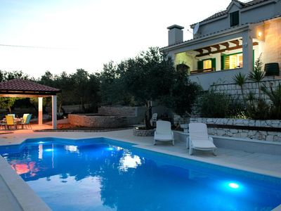 Photo for Holiday house with a swimming pool Plano (Trogir) - 11897