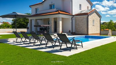 Photo for Lovely villa with pool near Porec and the beaches
