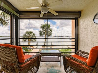 "Photo for Waterfront Condo w/Pools & Hot Tub - Stunning Views - ""Updated"""