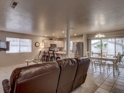 Photo for Las Palmas | Bottom Level Right By Pool | Sleeps 8 | Bunk Beds