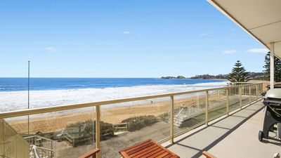 Photo for ON THE BEACH #13, WAMBERAL - BEACHFRONT, AMAZING OCEAN VIEWS