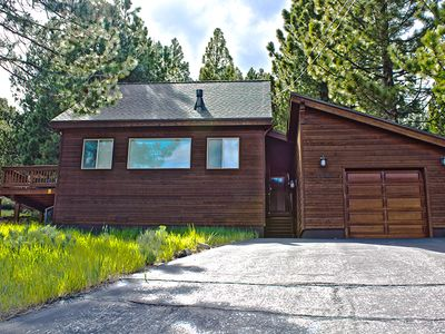 Photo for Charming Tahoe Donner Cabin with Stunning Mountain Views