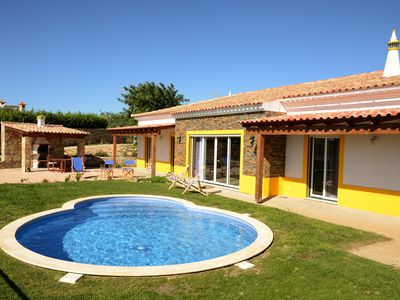 Photo for 3 Bedroom secluded contemporary villa with private pool and landscaped gardens.
